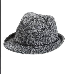 Nordstrom salt pepper women's fedora